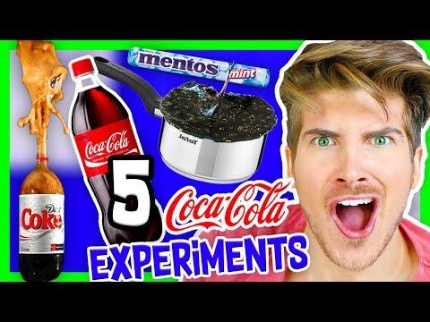 5 INSANE COKE EXPERIMENTS!