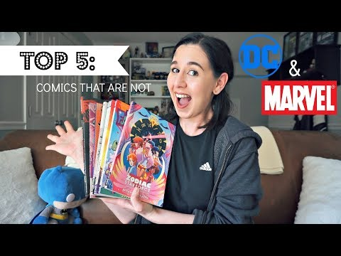 Top 5 Comic Book Recommendations [Not DC or Marvel]