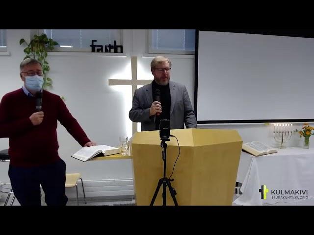 Sunnuntai / Sunday 17.10.2021 Pastori Arto Nousiainen