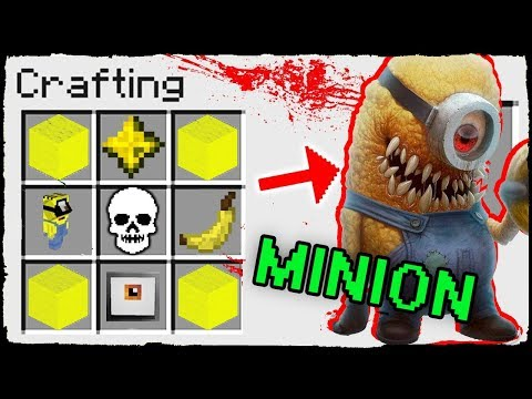 Minecraft - How to Summon  Shocking Minion in Crafting Table!