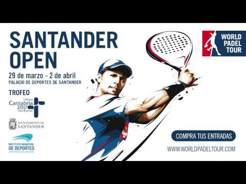 Promo World Padel Tour Santander 2017