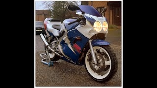 "FOR SALE £1750 1989 Suzuki GSX-R400 ""Baby Gixxer"" WALK AROUND & START UP"