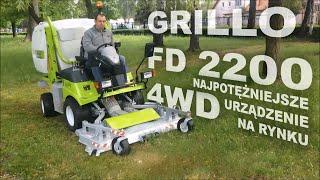 Kosiarka komunalna GRILLO FD 2200 4WD - najpotężniejsze urządzenie na rynku