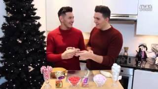 d君 trentluke 英國超帥gay夫夫最新圣誕節秀恩愛視頻