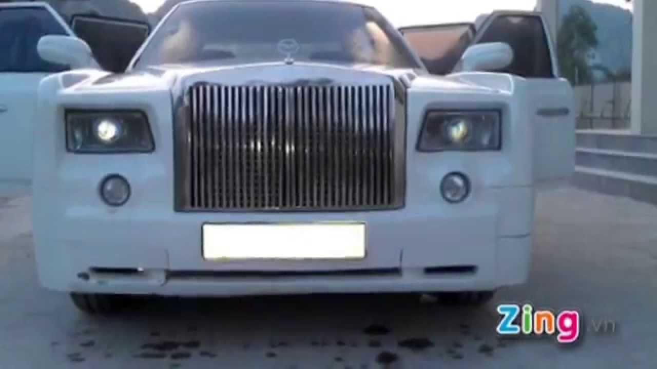 Rolls royce phantom fake - YouTube