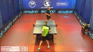 Настольный теннис матч 160718 6 Черашев Дмитрий Сироткин Андрей