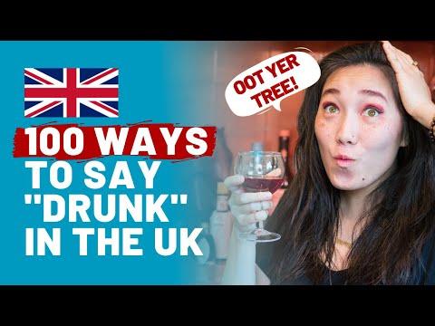 Top 100 British Slang Words for DRUNK 🍻🇬🇧 (English Drinking Slang)