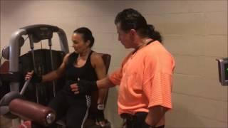 Фитнес Тренировка Дома для Девушек 32/Накачать |  Фитнес Тренировка Дома для Девушек 32/Накачать Бедра Сзади