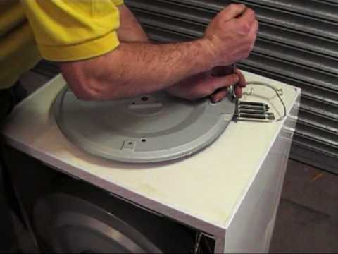 How To Replace A White Knight Tumble Dryer Heating Element Heater