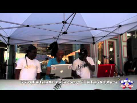 Hard Hittin Harry @ ATLANTIC ANTIC Brooklyn Street Festival (Haitian All-StarZ TV)