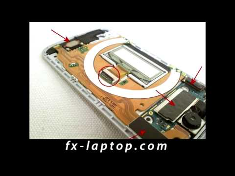 Disassembly Sony Ericsson T707 - Battery Glass Screen Replacement