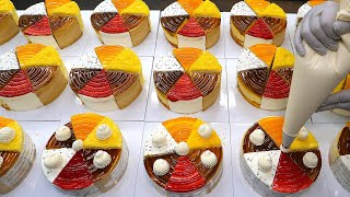 Pretty and delicious! Assorted cakes in 6 flavors