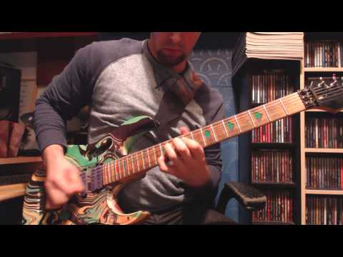 Pantera - Floods (Guitar solo cover)