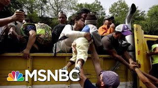 No, Migrants Aren't Coming To The U.S. To Vote For Democrats | Velshi & Ruhle | MSNBC