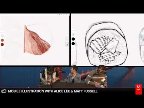 Alice Lee and Matt Fussell - Live Drawing 3/3 | Adobe Creative Cloud