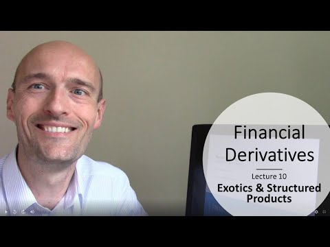 Financial Derivatives - Class 10 - Exotics, Structured Products & Derivatives Mishaps
