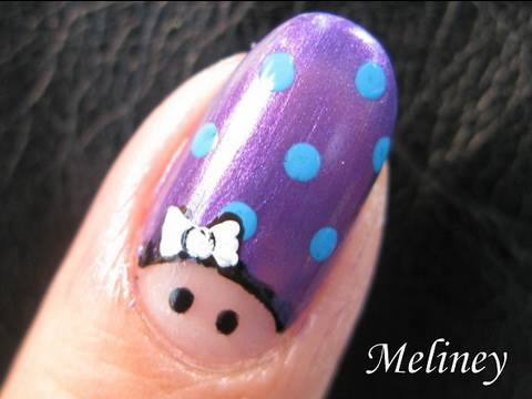 nails art tutorial - finger army