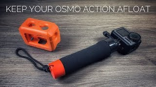 Floating Hand Grip & Floating Case for Osmo Action