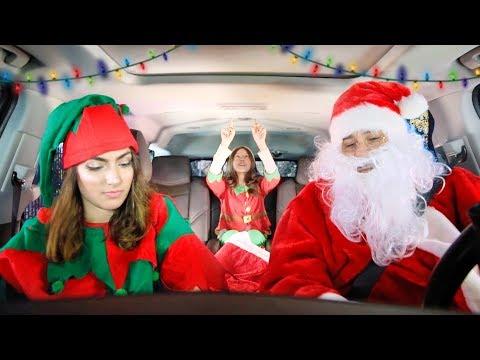 Christmas Carpool Ride!