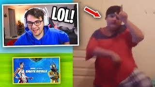 REACTING To Fortnite #EmoteRoyaleContest Submissions (CRINGE Warning)
