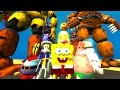 Titan Animatronics Vs Spongebob! (gmod Fnaf Sandbox Funny Moments) Garry's Mod video