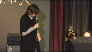 Triumph the Insult Comic Dog Live at a Benefit Part 4/4 (with Kristen Schaal)