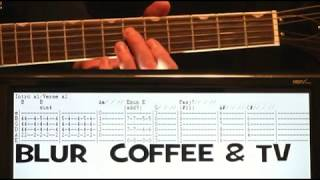 Blur Kopi Dan TV Guitar Chords Tutorial Lesson & Tab