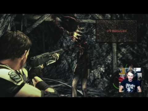 Resident Evil 5 HD Walkthrough Part 4: The mines of Moria... African style