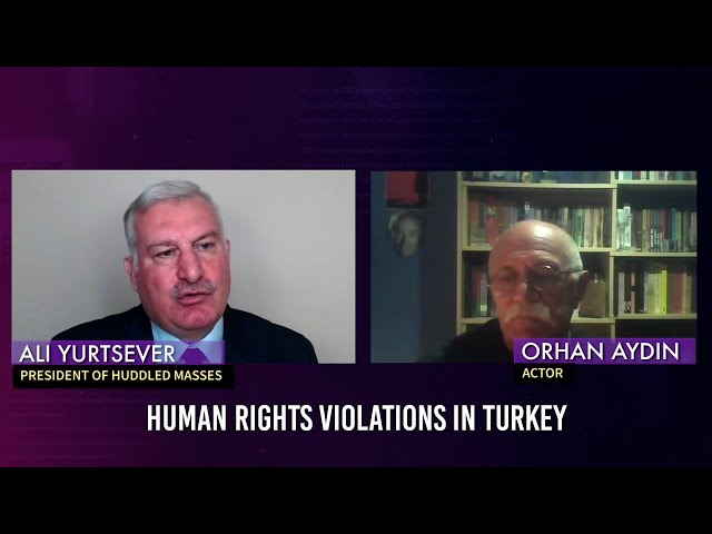 Broken Lives; Human Rights Violations in Turkey: Interview with Orhan Aydın, Artist, Actor, Author