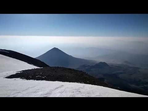 Армянские альпинисты с
