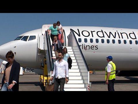 Новый борт авиакомпании Nordwind совершил посадку в краснодарском аэропорту