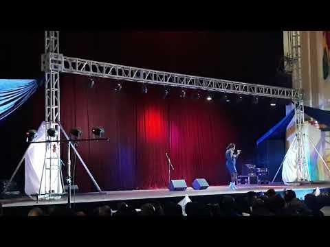Kandet Kouyate au concert de Nakany Kante au palais du peuple Conakry