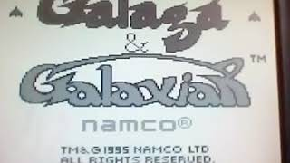 Playing Galaga and Galaxian (Gameboy)😎🎮