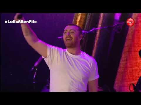 Sam Smith-Money on my Mind at Lollapalooza Argentina