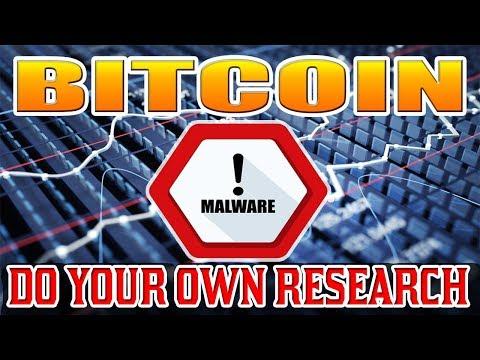 Bitcoin (BTC) Virus / Malware BE VIGILANT!