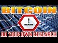 Bitcoin (BTC) Virus / Malware BE VIGILANT! - YouTube