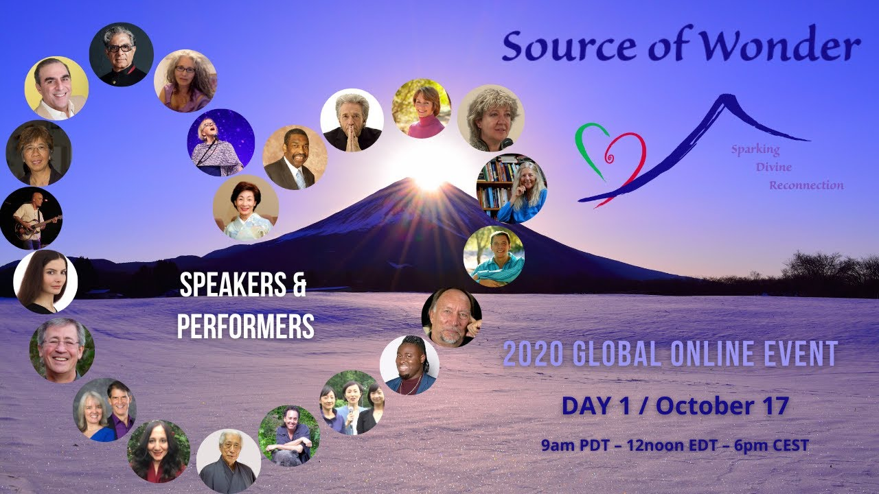 Source of Wonder 2020 Free Global Online Event