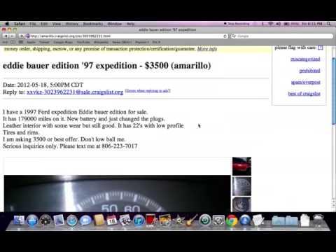 Craigslist Amarillo Texas Used Cars and Trucks Under $4400 ...