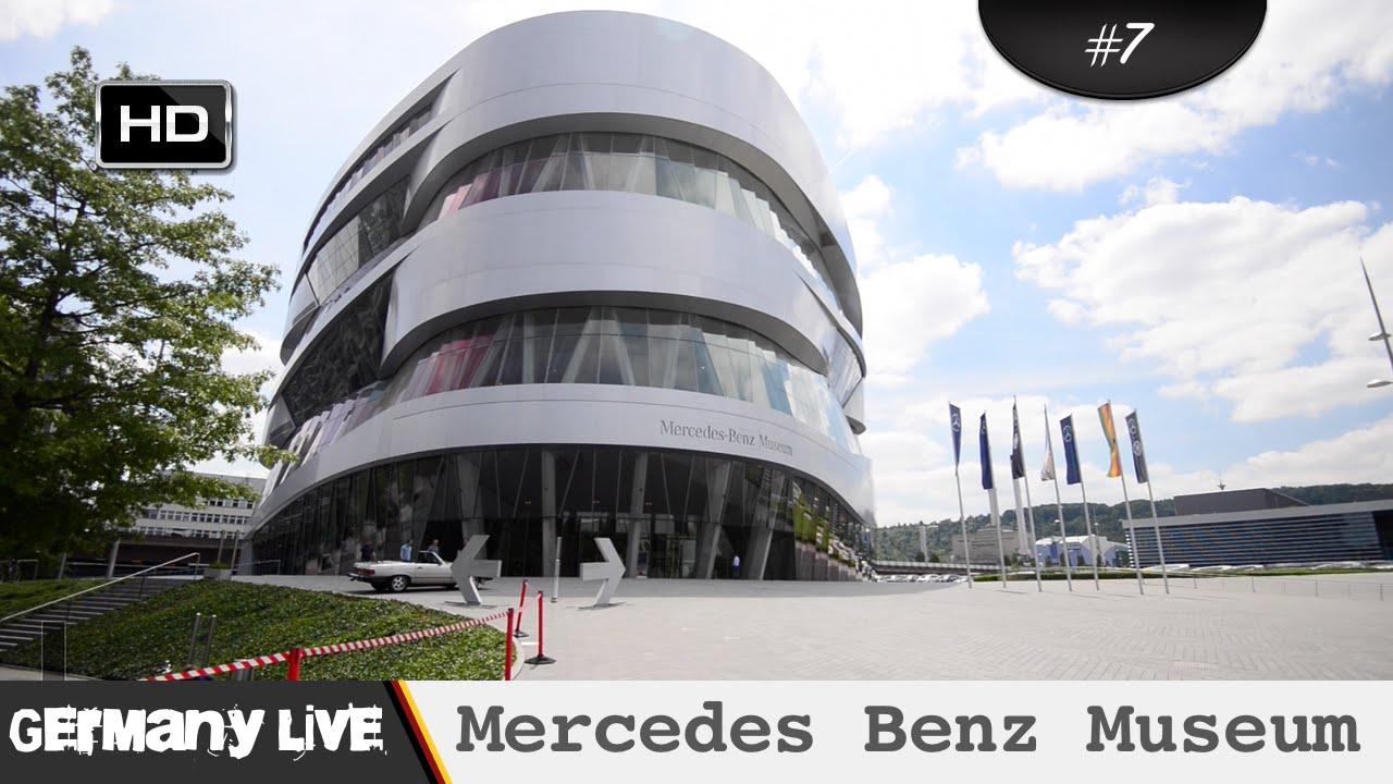 mercedes benz museum stuttgart youtube. Black Bedroom Furniture Sets. Home Design Ideas