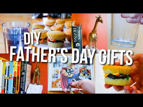 DIY Father's Day Gift Ideas! Gift Guide for Dad 2016!