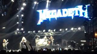 Megadeth - Holy Wars + Outro (live in Manila)