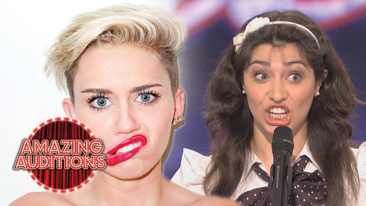 BEST Miley Cyrus Auditions From Around The World   Amazing Auditions