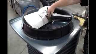 How to Fix a Bad Air Conditioner Condensor Fan Motor an AZ AC Repair