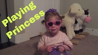 A PRINCESS WEARS SUNGLASSES