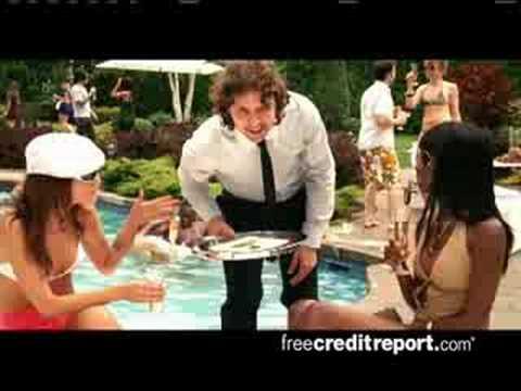 Best freecreditreport.com commercial yet