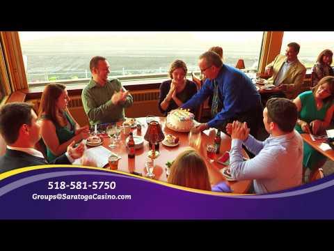 Group Parties | Saratoga Casino and Raceway