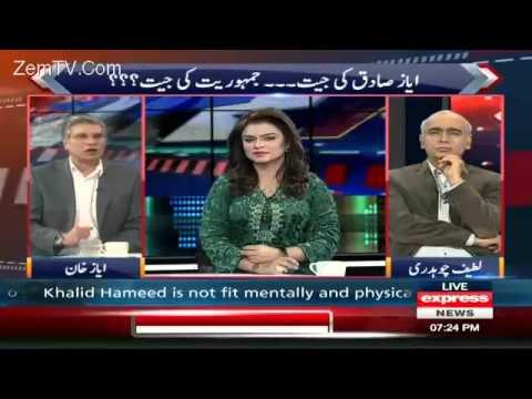 Khabar Se Agay - 9 November 2015 | Express News