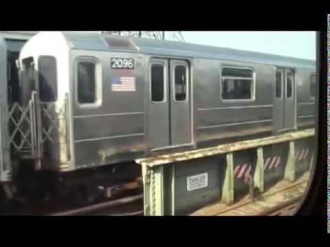 Riding the Subway in Queens New York City USA - Part 1