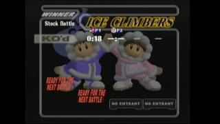 Down to Smash 1 - KB (Falco/Falcon) Vs. Grimbles (Ice Climbers)