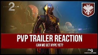 Destiny 2 | Multiplayer Trailer Reaction | Getting Hype for D2! | New Exotics!